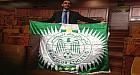 """برلماني من """"البيجيدي"""" يرفع شعار الرجاء في البرلمان"""