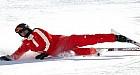 """شوماخر في حالة """"حرجة"""" بعد سقوطه اثناء التزلج على الجليد"""