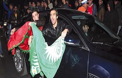 """سلطات مراكش تهنئ """"الرجاء العالمي"""""""