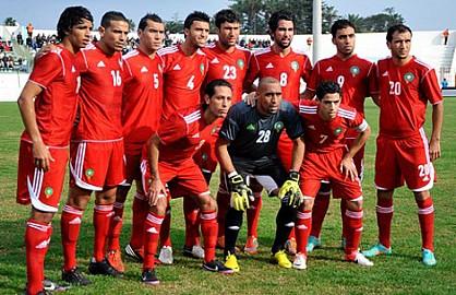 المنتخب المغرب المحلي سيواجه فريقا بالقسم الثاني