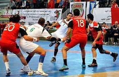 البطولة الوطنية لكرة اليد تتوقف