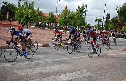 تألق دراجي اولمبيك خريبكة في السباق الوطني للدراجات بمدينة ابن جرير