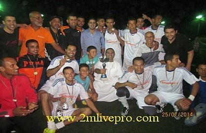 ENERGY TRANSFO يفوز بدوري رمضان في كرة القدم المصغرة لجمعية ازدهار