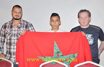 من يتآمر على البطل المغربي الأصل والحامل للألقاب العالمية باسم المغرب……