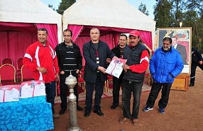 النادي الرياضي لليوسفية يفوز بالدوري السنوي للكرة الحديدية بابن جرير