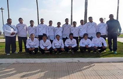 فتيان نادي اولمبيك اليوسفية يشاركون في البطولة الوطنية للتايكواندو