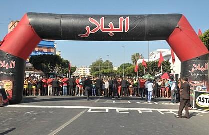 الشرقاوي ونانسي يتوجان بلقب الدورة آل 14 لسباق الحي المحمدي على الطريق بالدارالبيضاء