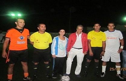 Organisation de la troisième édition du tournoi de mini-foot inter-entreprises d'IZDIHAR