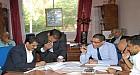 مراسيم تسليم المهام بين الرئيس السابق والرئيس الحالي » الجماعة الحضرية مدينة ابن جرير «