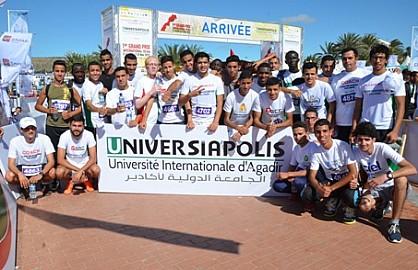 الجائزة الكبرى 10 كلم على الطريق الدولي للجامعة الدولية لأكادير تكسب رهان العالمية