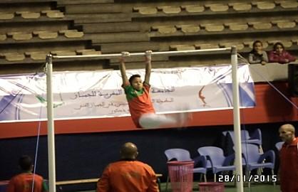 رغم غياب الدعم فقد سجلت جامعة الجمباز تحدي كبير بتنظيمها الممتاز للبطولة العربية لللجمباز