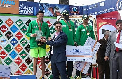 البحريني حسن العباسي والكينية باسكاليا كيبكواش يفوزان بالنسخة السادسة للجائزة الكبرى لسباق أسطا فوتينغ عين السبع