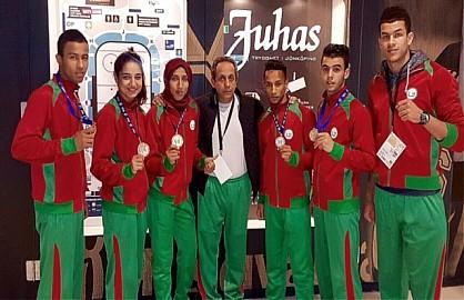 المنتخب الوطني للمواي طاي يحقق نتيجة باهرة ببطولة العالم بالسويد