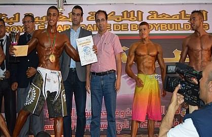 نادي اولبيك  إبن جرير  ينجح في تنظيم البطولة الوطنية لرياضة كمال الأجسام