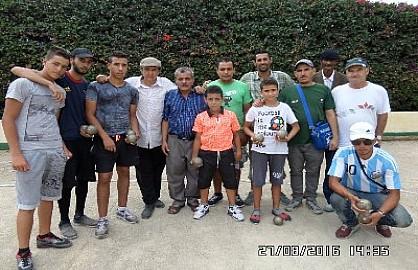 النادي الرياضي القنيطري للكرات الحديدية فريق نمودجي منضبط يشارك باكبر عدد من اللاعبين في البطولة الوطنية للثنائي