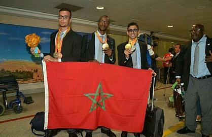 أبطال الألعاب البارالمبية 2016 بريو دي جانيرو، يتفوقون على نظرائهم الذين شاركوا في أولمبياد ريو 2016.