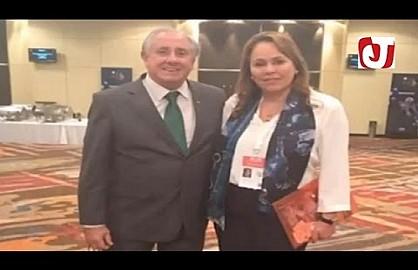 السيدة بشرى حجيج رئيسة الجامعة الملكية المغربية لكرة الطائرة عضوا بالمكتب التنفيذي للإتحاد الدولي لكرة الطائرة