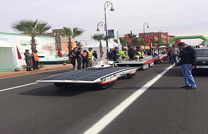 ابن جرير الدورة الرابعة لسباق موروكن رايس شالنج للسيارات الشمسية بالمغرب