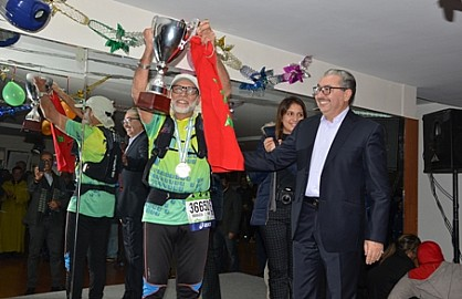 عزا لعرب بوسعيد ونادية الكيحل يفوزان بالدورة السادسة لماراتون سبينين للمركب الرياضي الفردوس