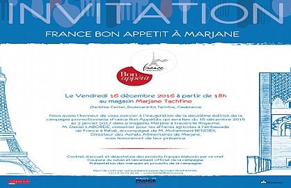 L'opération «France Bon Appétit» revient à Marjane pour la 2ème  fois consécutive