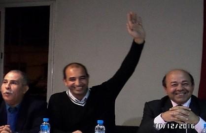 سمير بنخاليد بالإجماع رئيسا لنادي الشباب البيضاوي لكرة الطاولة