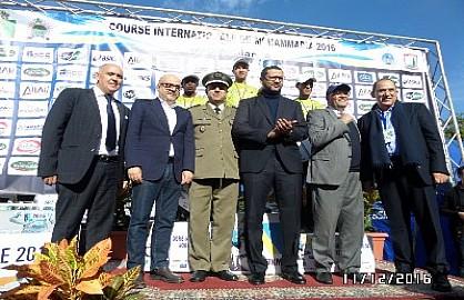 البحريني حسن شاني والإثيوبية بوني يفوزان بالنسخة الخامسة لسباق 7كلم الدولي للمحمدية