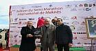 عامل عمالة مكناس وجمعية السعادة يصنعان الحدث من خلال نجاح نصف ماراطون مكناس الدولي