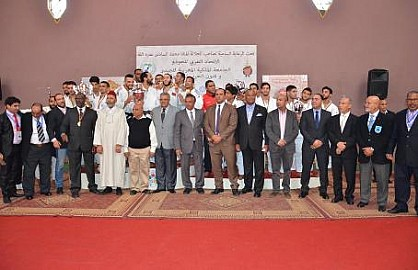 سيطرة واضحة للجيدو المغربي على منافسات البطولة العربية للأندية البطلة