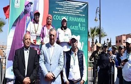 """إبن جرير"""" الدورة الخامسة لملتقى غزالات الرحامنة: حدث رياضي متميز للاحتفاء بالمرأة المغربية"""