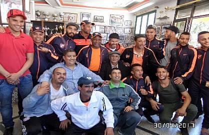 فريق الرابطة الرياضية البيضاوية لكرة القدم يحقق الصعود للقسم الثالث