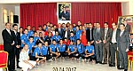 السيد فريد شوراق عامل اقليم الرحامنة يقيم مأدبة غداء على شرف فريق شباب ابن جرير لكرة القدم