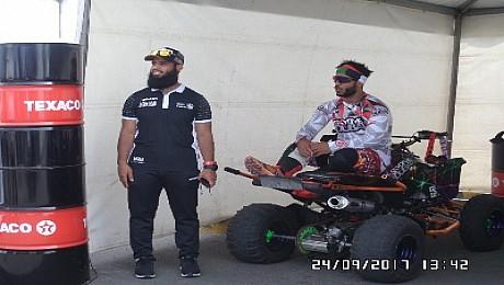 عبد الله سعيد الحتاوي يشرف الرياضة الأمنية  لمنطقة دبي خلال  فعاليات البطولة الدولية لاستعراضات الدراجات النارية بالدارالبيضاء