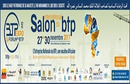 Casablanca abritera la 5ème édition du salon international du BTP