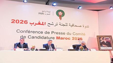 لجنة ترشح المغرب لمونديال 2026 ترفع شعار التحدي وتتفائل بتنظيم الحدث العالمي الكروي