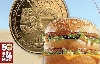 McDonalds Célèbre le 50e anniversaire du Big Mac