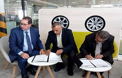 سيتروين توقع اتفاقية شراكة لفائدة أعضاء النقابة الوطنية للتجار
