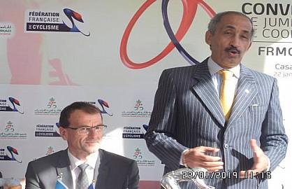 جامعة الدرجات بقيادة ذ بلماحي تخلق الحدث بتوقيعها توأمة اتفاقية بينها وبين جامعة فرنسا