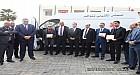 عامل إقليم النواصر يشرف على توزيع سيارات الإسعاف  ويعطي انطلاقة أشغال تقوية وتوسيع طريق إقليمية