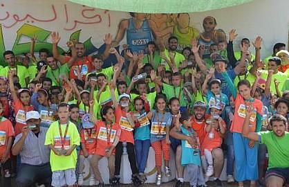 جمعيةة  اكراليون للتنميةة  تنظم  سباقها  الثاني على  الطريق
