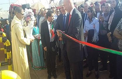 Nestlé Maroc et ses partenaires inaugurent un projet pilote avec la coopérative de Tayr Al Hor dans la région de Sidi Ismail, province d'El Jadida