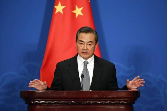 Wang-Yi Conseiller d'Etat et Ministre Chinois des Affaires +®trang+¿res